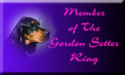 The Gordon Setter Ring Logo